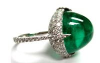 Bayco Emerald And Diamond Ring Ii Green