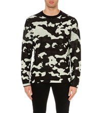 Cheap Monday Moe Easy Invader Knitted Jumper Off White
