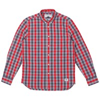 Penfield Wadcrest Long Sleeve Check Shirt Red