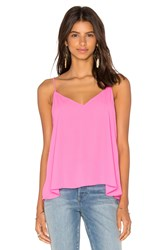 Eight Sixty V Neck Tank Pink
