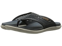 Ecco Collin Sandal Thong Ombre Whiskey Men's Sandals Black