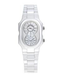 Philip Stein Teslar Philip Stein Large Ceramic Watch White