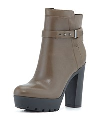 Emme Leather Boot Olive Pour La Victoire Green