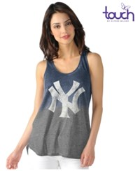 G3 Sports Women's New York Yankees Twisted Tank Navy Gray
