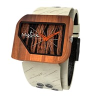 Mistura Unisex Wooden Pellicano Watch Hollister