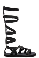 Free People Cynder Gladiator Sandal Black