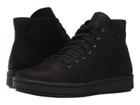 Eileen Fisher Game 2 Black Tumbled Nubuck Women's Lace Up Casual Shoes