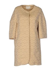 Trou Aux Biches Coats And Jackets Full Length Jackets Women Beige