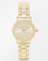 Johnny Loves Rosie Boyfriend Gold Watch