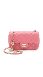 Wgaca Chanel Valentine Mini Bag Previously Owned Pink