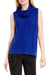 Vince Camuto Women's Two By Sleeveless Cowl Neck Sweater