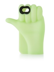 Marc By Marc Jacobs Thumbs Up Glow In The Dark Iphone 6 Case Light Green Light Green