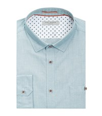 Ted Baker Gomyway Woven Shirt Male Blue