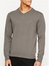 Paul Smith Ps By V Neck Jumper Grey
