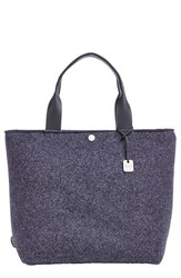 Skagen 'Anja' Wool Tote Black Ink