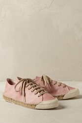 Anthropologie Snakeskin Espadrille Trainers
