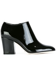 Sergio Rossi Zip Up Ankle Boots Black