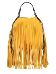 Stella Mccartney Mini 3Chain Falabella Fringed Faux Deer