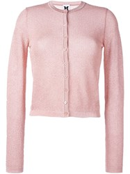 M Missoni Classic Cardigan Pink And Purple