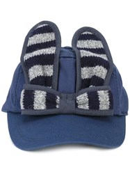 Bernstock Speirs Striped Bunny Cap Blue
