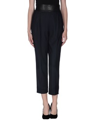 Diane Von Furstenberg Casual Pants Dark Blue