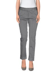 Cividini Trousers Casual Trousers Women Grey