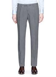 Boglioli Irish Linen Chinos Grey