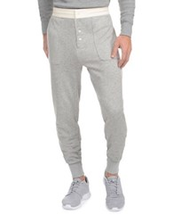 2Xist Heritage Jogger Pants Light Grey