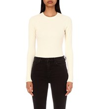 Maison Martin Margiela Waffle Knit Cotton Blend Body Calico