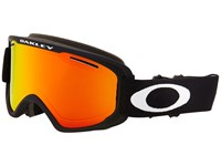 Oakley O2 Xm Matte Black Fire Iridium Sport Sunglasses