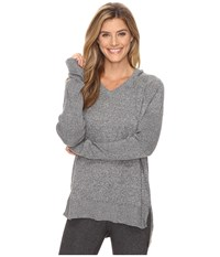 Lucy Meet The Mat Hoodie Light Asphalt Heather Women's Sweatshirt Gray