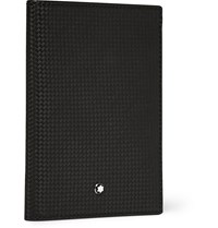 Montblanc Extreme Leather Passport Holder Black