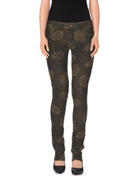 Reign Trousers Casual Trousers Women Dark Green