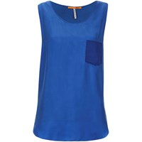 Boss Orange Women's Kathna Vest Top Blue