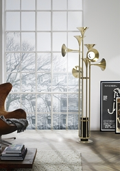 Delightfull Unique Lamps Botti Floor Lamp