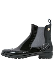 Trussardi Jeans Wellies Black