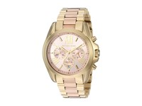 Michael Kors Mk6359 Bradshaw Two Tone Watches Metallic