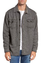 True Grit Men's Lined Tweed Shirt Jacket