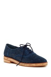 Vince Camuto Salisa Perforated Oxford Blue