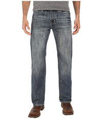 Rock And Roll Cowboy Pistol Straight Leg In Medium Wash M1p7429 Medium Wash Men's Jeans Navy