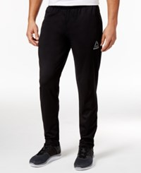 Reebok Men's Playdry Track Pants Black