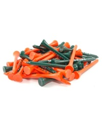 Team Golf Miami Hurricanes 50 Pack Golf Tees Team Color