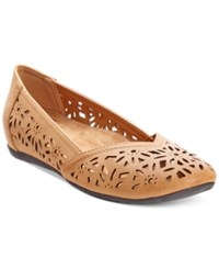 Easy Street Shoes Easy Street Charlize Cutout Wedge Flats Women's Shoes