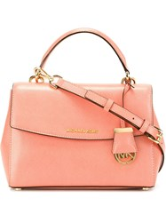 Michael Michael Kors Small Tote Bag Pink And Purple