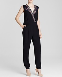 Twelfth St. By Cynthia Vincent Twelfth Street By Cynthia Vincent Jumpsuit Crossfront Embroidered