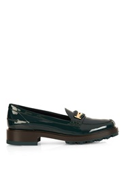 Tod's Woven Edge Leather Loafers