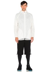 Brandblack Damon Hooded Shell White