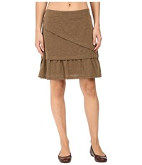 Prana Leah Skirt Pottery Women's Skirt Brown