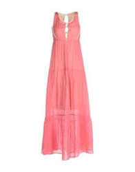 Cristinaeffe Collection Long Dresses Pink