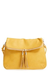 Bp. Foldover Crossbody Bag Yellow Mustard